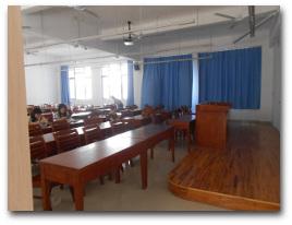 Ein Klassenzimmer der Universität Xiamen.