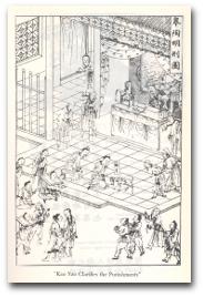 Eine chinesische Zeichnung.