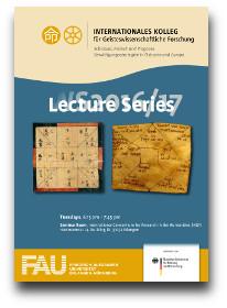 Flyer für die Vorlesungsreihe des IKGF im WS 2016/2017.