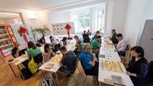 Ein Spielenachmittag am Konfuzius-Institut Nürnberg-Erlangen.