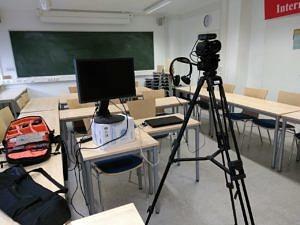 Kameraequipment zum Dreh der E-Learning-Videos.